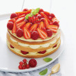 Kit Layer cake pistache fruits rouges