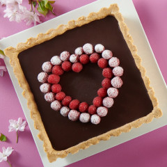 Kit Tarte express aux 2 chocolats