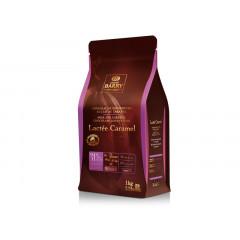 Pistoles de chocolat au lait 31% au caramel 1 kg
