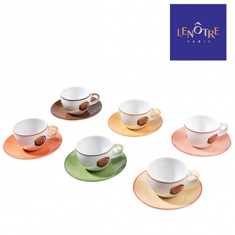 Lot de 6 tasses Lenôtre