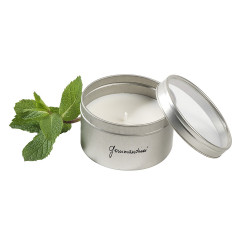 Bougie parfumée Gourmandises® - parfum menthe poivrée