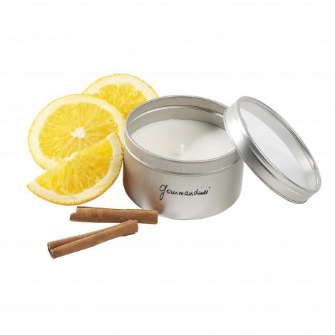 Bougie parfumée Gourmandises® - parfum orange cannelle