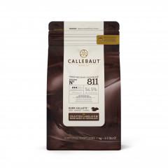 Pistoles de chocolat noir 54,5% 1 kg