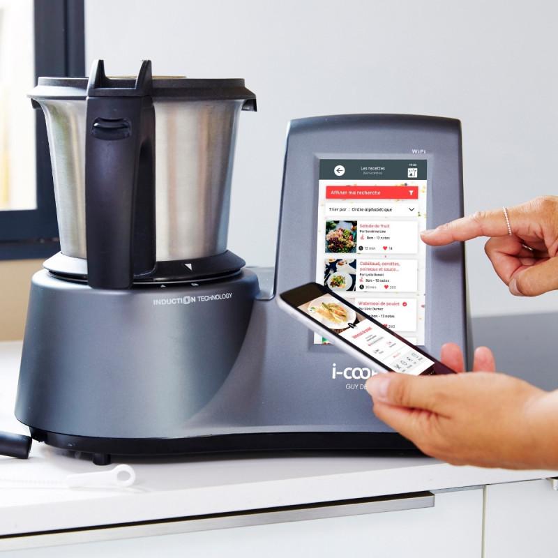 Le Meilleur Robot De Cuisine Multifonction Connecte I Cook In