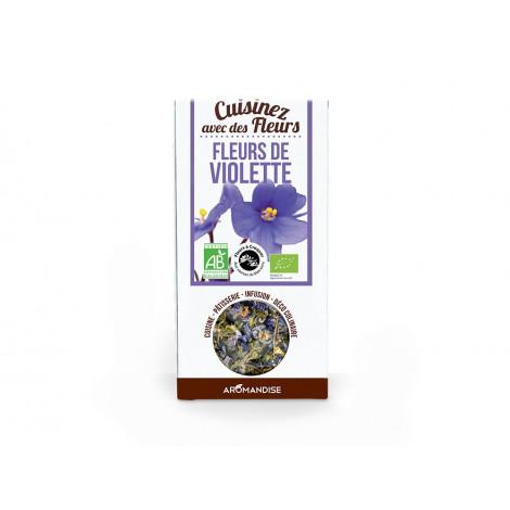 Fleurs à croquer bio Fleurs de Violette, 15g