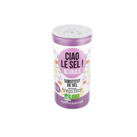 Ciao le sel ! Acidulé - Substitut de sel, mélange de légumes et d'aromates bio, 70g