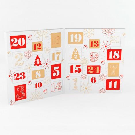 Kit Calendrier de l'avent à faire soi-même : Format Livre