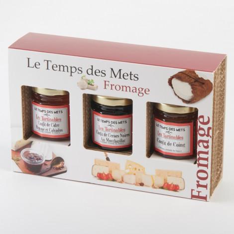 Coffret Découverte: Accompagnement Fromage, Le Temps Des Mets