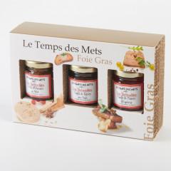 Coffret Découverte: Accompagnement Foie gras, Le Temps Des Mets