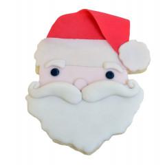 Découpoir Visage du Père Noël 9,5 cm