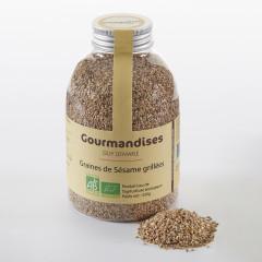 Graines de Sésame grillées biologiques, 320 g