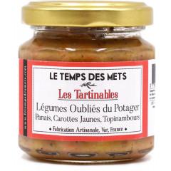 Tartinable de légumes oublies du potager (panais, carottes jaunes, topinambours) 100 g