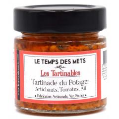 Tartinade du potager (préparation à base d'artichauts, tomates, ail) 100 g