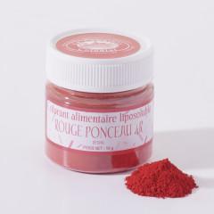 Colorant pour chocolat, rouge fraise, 10 gr