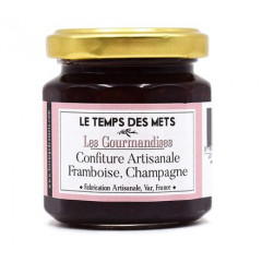Sélection gourmande Framboise Champagne 125g