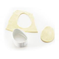 Découpoir ovale 6,4 cm