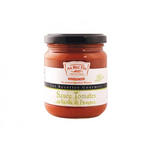 Sauce tomates au basilic de Provence 180 g