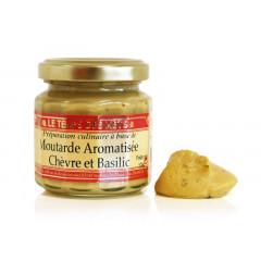 Moutarde chèvre basilic 100 g