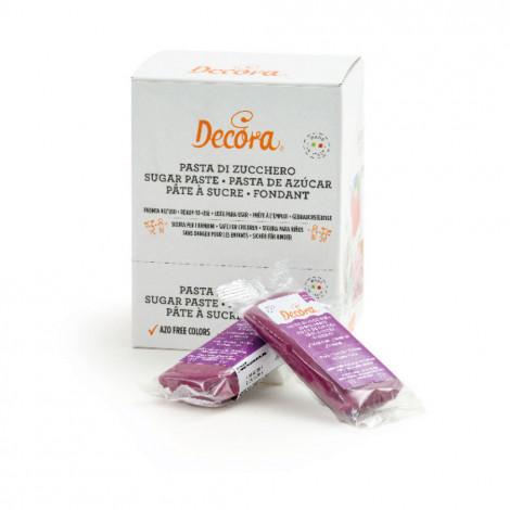 Pâte à sucre violette 100 g - Decora