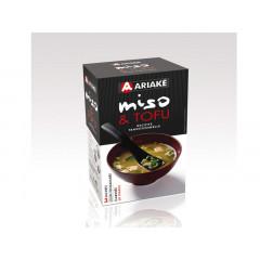 3 sachets de soupe miso et tofu