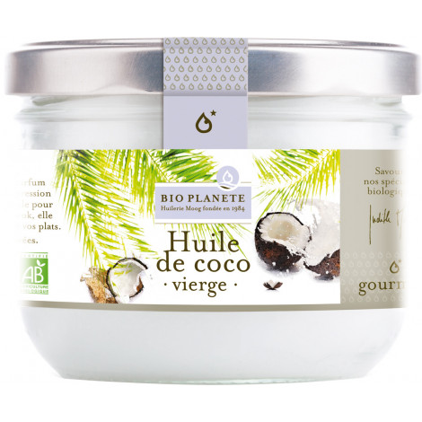 Huile de coco vierge, biologique, 200 ml