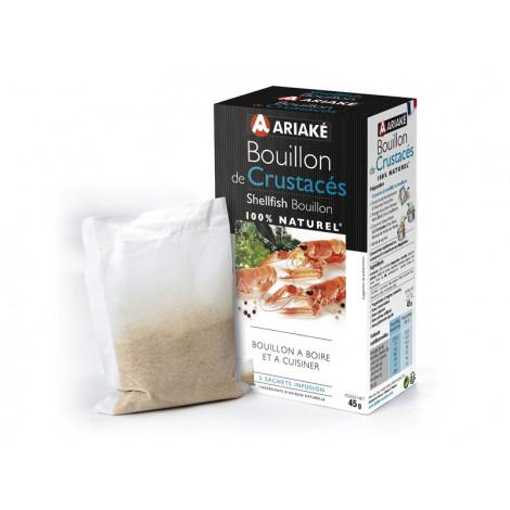 5 sachets de bouillon de crustacés