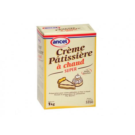 Crème pâtissière super à chaud 1 kg - Ancel