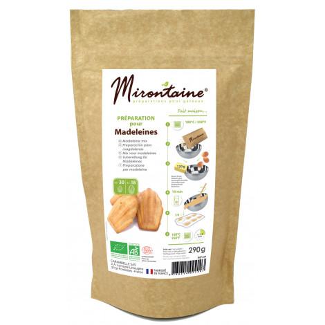 Préparation bio pour madeleines