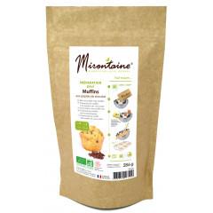 Préparation bio pour muffins aux pépites de chocolat