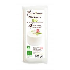 Pâte à sucre blanche bio 500g