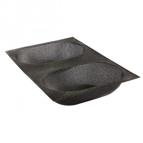 Moule Ovale arrondi pour pain FLEXIPAN® AIR x2