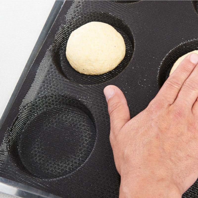 Pain de Viande 1 Pack Lasagne Moule /à Cuisson Antiadh/ésif de Grande Taille pour Pain Gifbera Moule /à Pain en Silicone pour Cuisson avec Cadre en M/étal Quiche