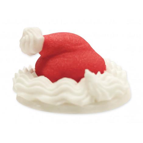 Chapeaux Père Noël - Assortiment 9 décors sucrés
