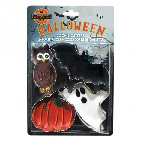 Kit de 4 découpoirs Halloween