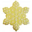 Kit de 7 découpoirs flocons de Noël 4 - 12,5 cm