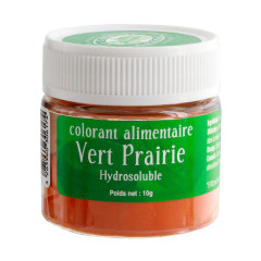 Colorant alimentaire vert prairie 10 g