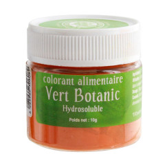 Colorant alimentaire vert botanic 10 g
