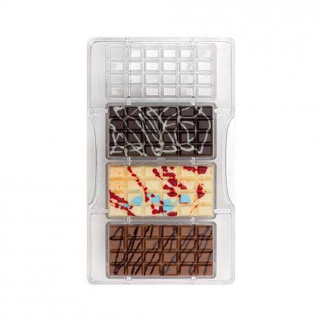 Moule à chocolat: 4 petites tablettes