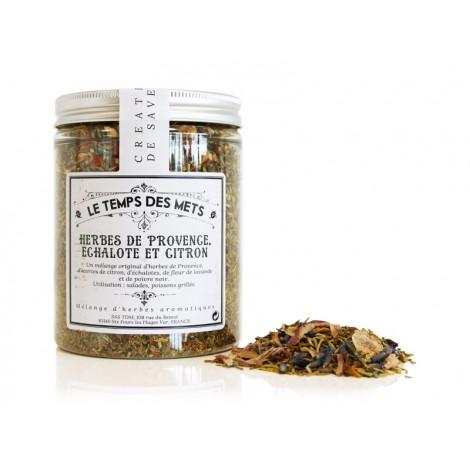 Mélange herbes de Provence, échalotes, citron 90 g