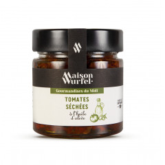 Tomates séchées à l'huile d'olive 195g