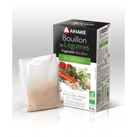 Bouillon de légumes bio (4 sachets de 13g)
