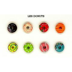 Lot de 5 fèves thème Donuts