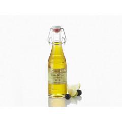 Huile d'olive aromatisée au citron 20 cl - Le temps des mets