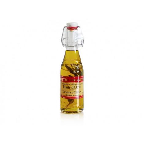 Huile d'olive avec rameau d'olivier 20 cl