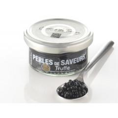 Perles de saveurs® saveur truffe noire