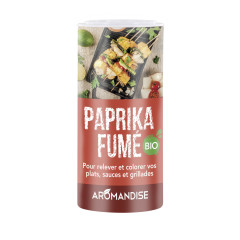 Tube poudreur Paprika Fumé bio 60g
