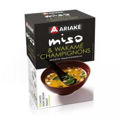 Soupe Miso Wakamés Champignons (3 sachets de 12 g)