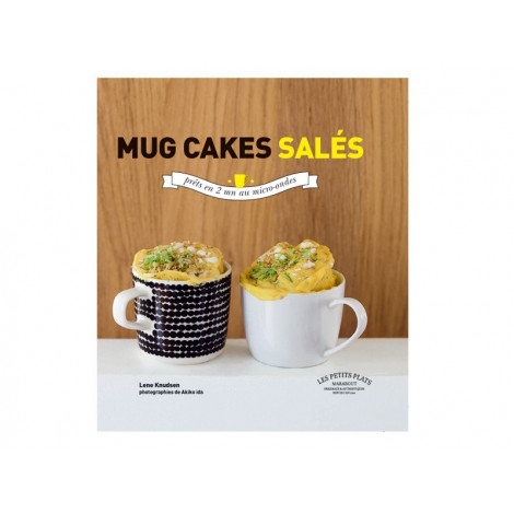 "Livre ""Mug cakes salés"" - Livre de cuisine Guy Demarle"