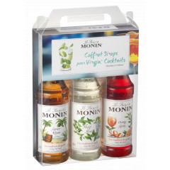 Coffret sans alcool Mojito, Rhum, Orange spritz, 3x25cl