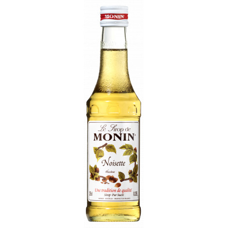 Sirop noisette Monin 25cl